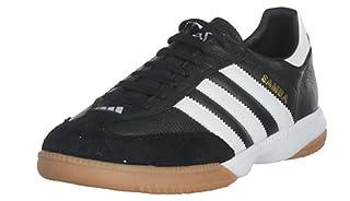 6a1787b95d4fc adidas Men's Samba Millenium Soccer Shoe,Black/Running White/Gold ...