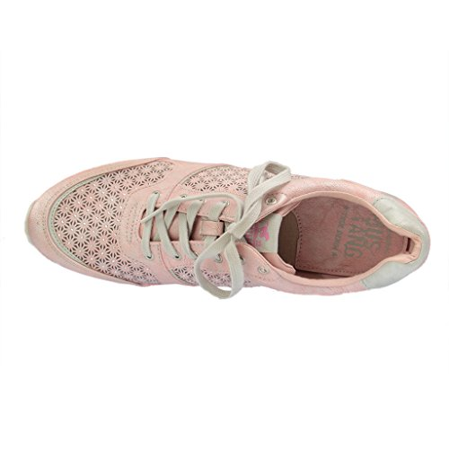 Lace Womens Rose Rosa Up 301 Mustang 555 Flats 1237 SqwTPaP