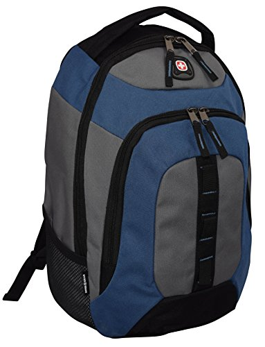 SwissGear Complex Padded Backpack Bag Black