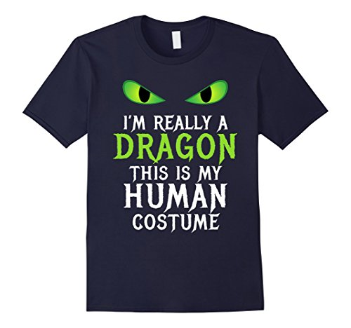 Mens Funny Scary Dragon Costume Halloween Shirt for Women Men Boy Medium (Ladies Scary Halloween Costumes)