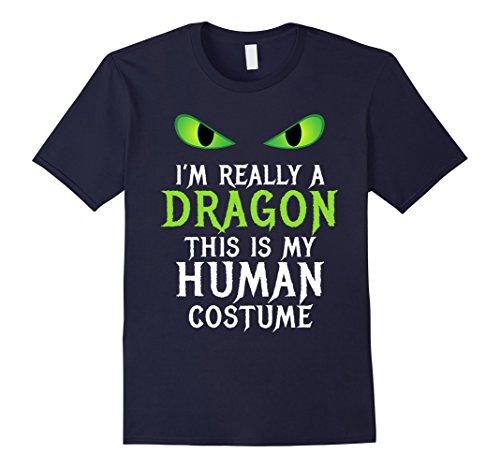 Mens Funny Scary Dragon Costume Halloween Shirt for Women Men Boy Medium (Easy Halloween Costume Ideas Scary)