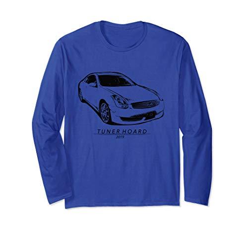(G35 JDM Drift Car T-shirt Fast 350GT Track & Street Race 350 Long Sleeve T-Shirt)
