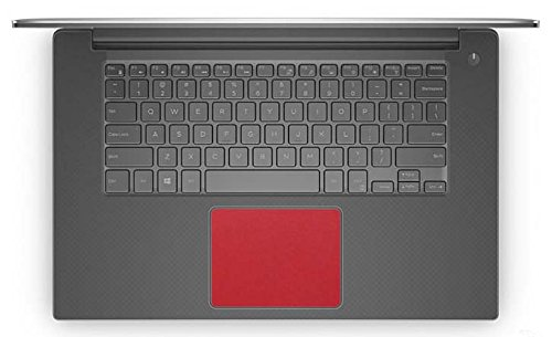 BingoBuy 5-Pack Customized Free Cut Trackpad Touchpad Decal Vinyl Sticker for Dell XPS 15-9550 15-9560 15-9570 Precision 15-5510 M5510 15-5520 M5520 15-5530 M5530(Shimmery red)