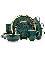 Stone Lain Porcelain Dinnerware Set