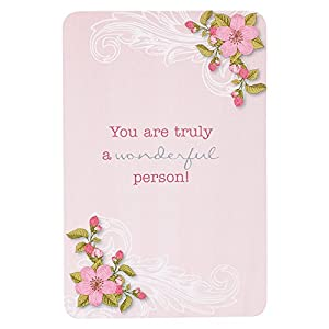 Promises From God for Women - example of a card