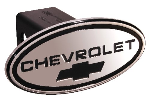 (TM Performance 31115 Black with Black Chevy Bowtie Oval 1-1/4