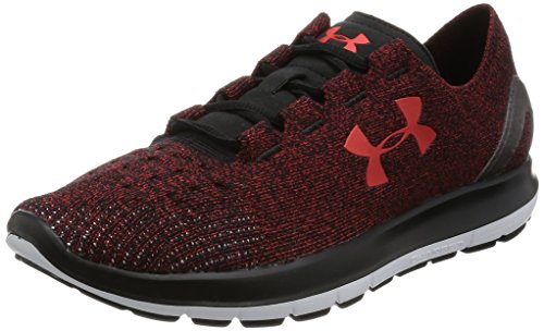 Under Armour Speedform Slingride Running Shoe - Men's Anthem Red/Black/Anthem Red, 11.0