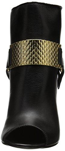 Cavalli Just Peep Women's Heel Black Goat Leather gUSdxqzwU