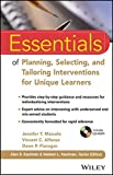 Essentials of Planning, Selecting, and Tailoring Interventions for Unique Learners (Essentials of Psychological Assessment) by Mascolo, Jennifer T., Alfonso, Vincent C., Flanagan, Dawn P. (2014) Paperback