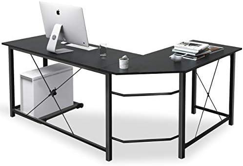 L Shaped Desk Corner Computer Desk Sturdy Computer Table Writing Desk Gaming Desk Workstation