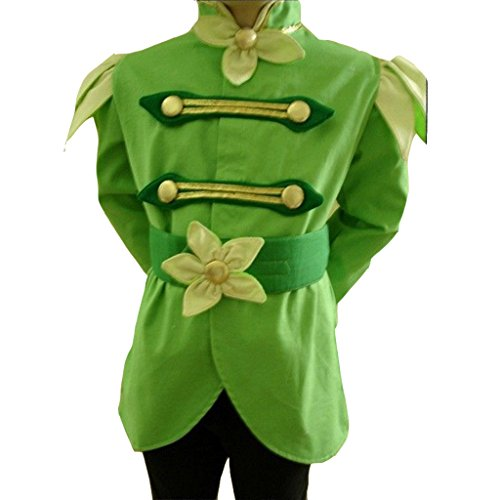 [CosplayDiy Men's The Princess And The Frog Prince Naveen Costume L] (Prince Frog Costumes)