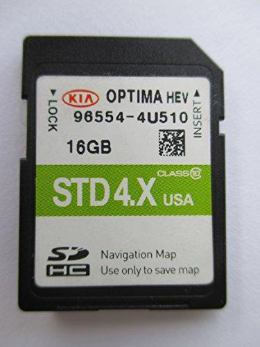 4U510 2015 2016 KIA OPTIMA HEV Navigation MAP Sd Card ,GPS, U.S.A OEM PART # 96554-4U510 ,16GB 3.X USA For Sale