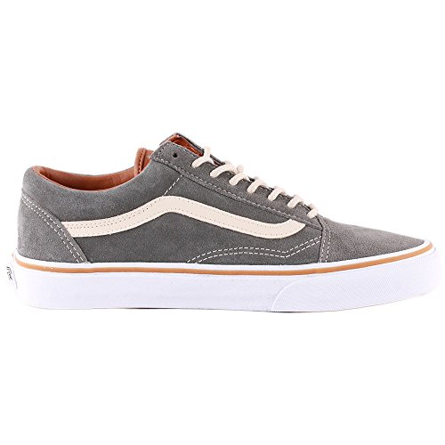 Skool Low Grey Old Top Trainers Adults' Vans Unisex 5xpwU6q7