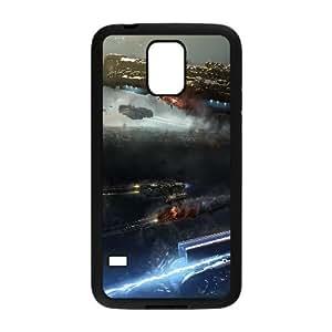 Q4L22 dreadnought R9R2NI funda Samsung Galaxy S5 caso del teléfono celular Funda Cubierta Negro AY4NVB7DY