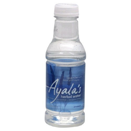 Ayalas Herbal Water - Lavender Mint Lemongrass 16-Ounce (Pack of 48) by Ayalas