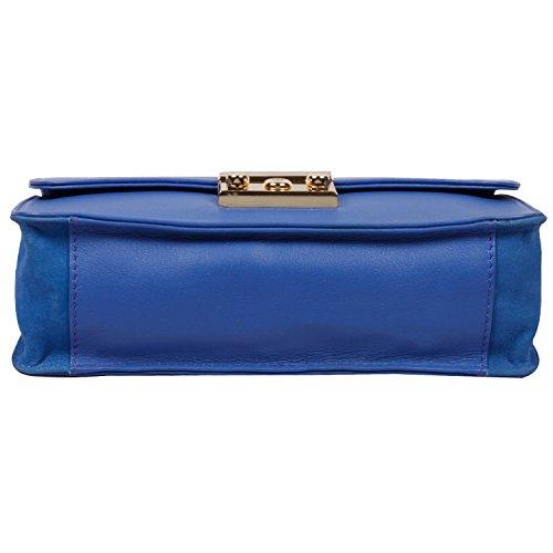 Ri2K Kingsland, Borsa a tracolla donna Blu blu small