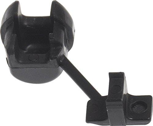 The Hillman Group 58229 0.437 Diameter Flat Strain Relief Bushing, 10-Pack