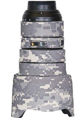 LensCoat Lens Cover for Nikon 24-70mm F2.8 AF-S - camouflage neoprene camera lens protection sleeve (Digital Camo) lenscoat