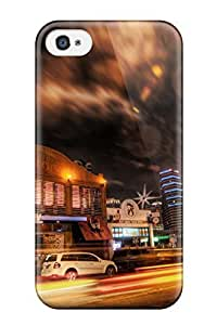 Anti-scratch And Shatterproof Hdr Phone Case For Iphone 4/4s/ High Quality Tpu Case