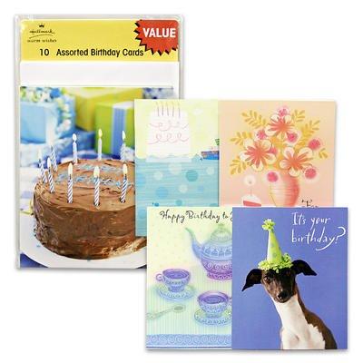 10pk Assorted Hallmark Warm Wishes Birthday Cards, Health Care Stuffs