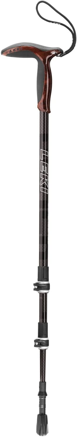 LEKI Wanderfreund Black Carbon Trekking Pole