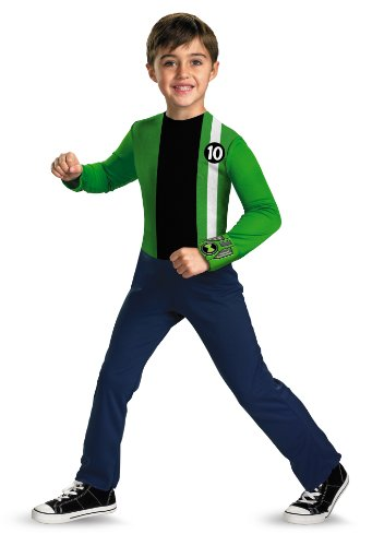Playtime-Ben-10-Alien-Costume-Fun-4-6-Child