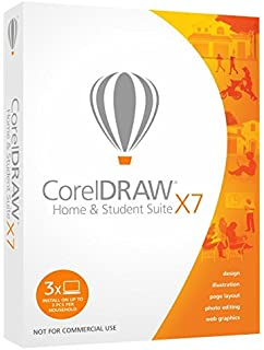 corel coreldraw home and student suite x7 3 users old version