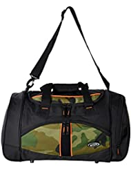 "Olympia Heavy Duty Nomad Camouflage 25"" Sports Duffle Duffel Tote Bag Travel Gym"
