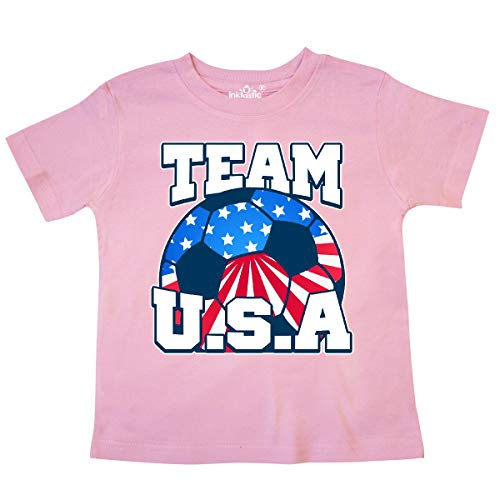 inktastic - Team USA Toddler T-Shirt 4T Pink 238ae