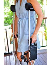 Comfy Crutches Combo Deal- Premium Crutch Pad Plus Pocket for Crutches- Ultra Padded Cushion for Crutches Making Crutches Comfortable- #1 Crutch Pad in Australia Fits Kids and Adult Crutches