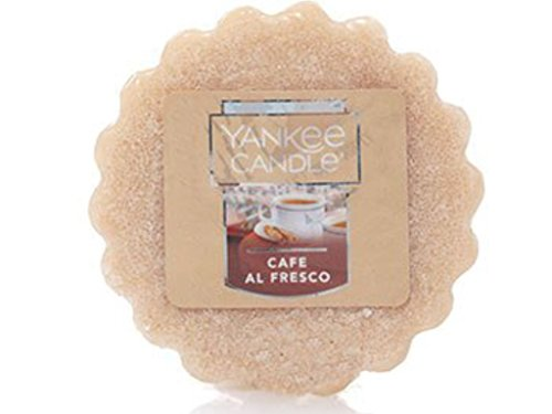 Yankee Candle Cafe Al Fresco Tarts Wax Melts, Food & Spice Scent