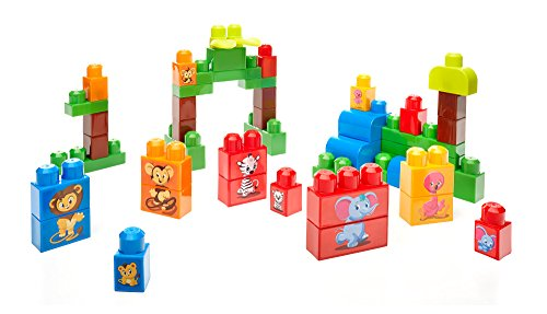 Mega Bloks First Builders Match 'n Stack Animals Building Set