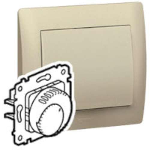 Legrand galea life - Mecanismo termostato temporizador con tapa titanio galea: Amazon.es: Industria, empresas y ciencia
