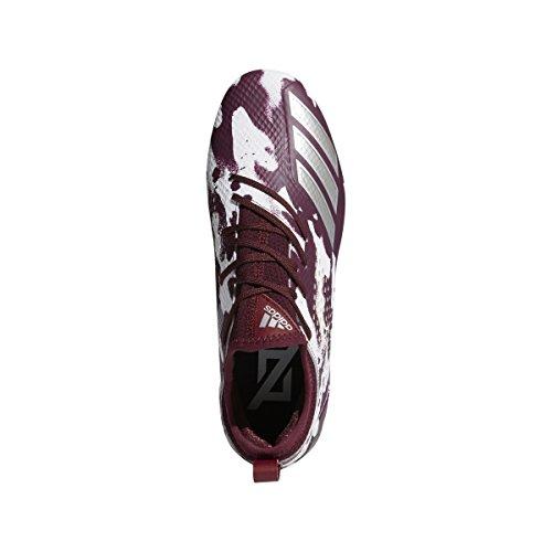 Adidas Adizero 5star 7.0 Tacchetta Mimetica Uomo Calcio Marrone Argento Metallizzato Bianco