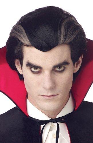 California Costumes Men's Modern Vampire Wig,Black,One Size -