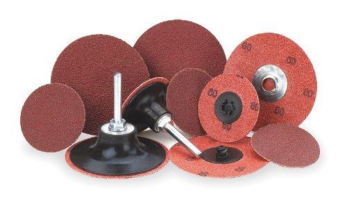 Merit Abrasives - 69957399697 - Locking Disc, AlO, 1-1/2in, 60Grit, TR, PK100