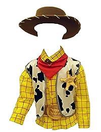 Disfraz O Traje Caroline DE Woody Cafe Toy Story Vaquero Gala para NIÑO