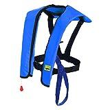Eyson Inflatable Life Jacket Life Vest Basic Automatic (Blue Manual)