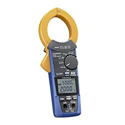 Hioki CM4373 True-RMS Clamp Meter, 1000VAC/1500VDC/2000A with Frequency and Resistance