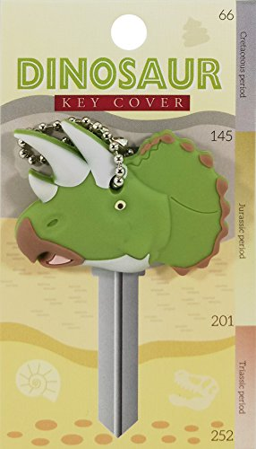 Price comparison product image Key Cover / Key Caps / Key Holder / Keycaps - Cute Animal Pet Faces (Triceratops Dinosaur)