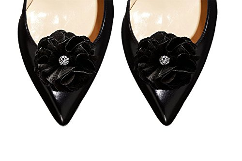 Absolutely Audrey Calista Black Shoe Clips by Absolutely Audrey (Image #1)