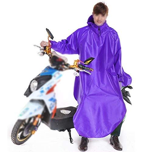 Poncho Auto Adulti Monocromatico Con Cappuccio Donne Raincoat Casuale Battercake 6 Elettrica Ispessimento All'aperto Moto SEXnqH0