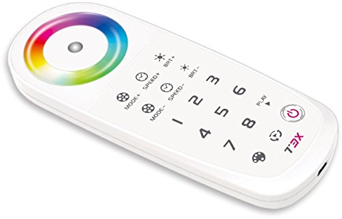 RGB programmable remote T3X (pairs with T3-5A ,T3-CV) by Wired4Signs USA