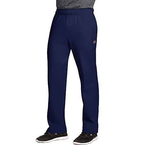 - Champion Authentic Men's Open Bottom Jersey Pants