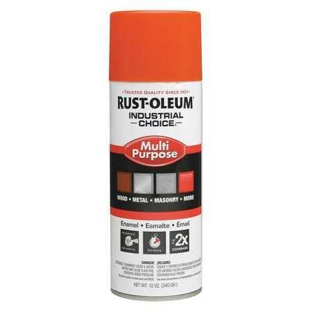 Spray Paint, OSHA Safety Orange, 12 oz.