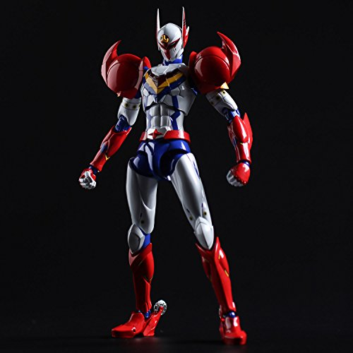 Sentinel SEN88261 Sen-Ti-Nel Infini-T Force Tatsunoko Heroes Fighting Gear Action Figure, White