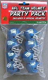 New York Giants Team Helmet Party Pack