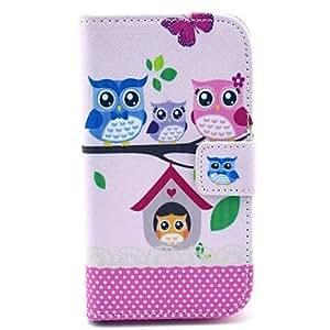 YULIN Teléfono Móvil Samsung - Fundas con Soporte - Gráfico/Dibujos Animados/Diseño Especial - para Samsung Galaxy I8262 Core ( Multi-color , Cuero PU )