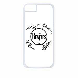 The Beatles Autographs- Hard White Plastic Snap - On Case-Apple Iphone 5 - 5s - Great Quality! by icecream design