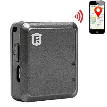 Uniqus RF-V8 Car Real Time GSM Mini GPS Tracker GPRS Tracking SOS Communicator(Black)